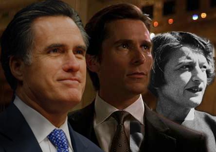 Ayn Rand, Bruce Wayne und Mitt Romney