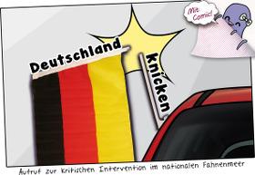 Deutschland knicken!